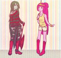 PB and Marceline by Ami-Magane
