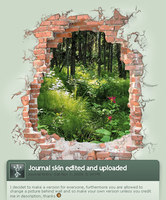 Journal skin natural version by luckylooke