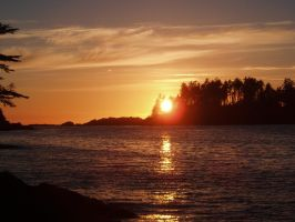 Vancouver Island Sunset 2 by 5tring3r