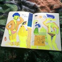 First finished journal page! by Alois-Marc-LeBlanc