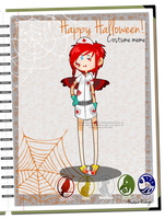 MR: Anne's Halloween outfit by Ch4rm3d
