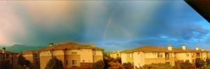 Rainbow at my place by Ruben-P