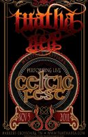 Celtic Festival Gig Poster by BANE-OF-MY-EXISTENCE