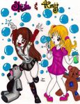 AT_Sheila and Amy by mirkochan