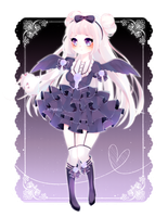 Adopt: Midnight Angel [Closed] by Rinabell