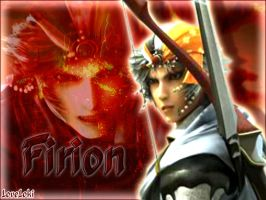 Firion in red by LoveLoki