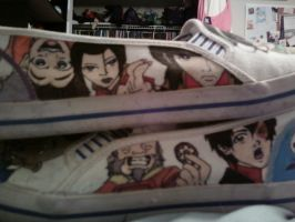 Avatar shoes: The Gaang 2 by Kastagir