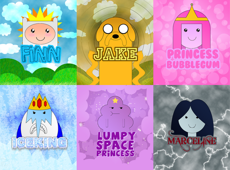 Adventure Time Wallpaper by Memo1990