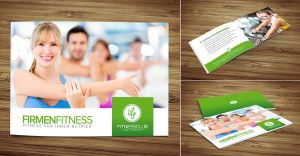 Fitness Brochure by DOMDESIGN
