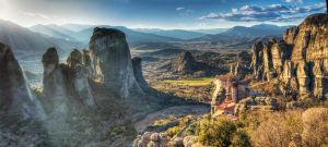 Meteora - Panorama II by roman-gp