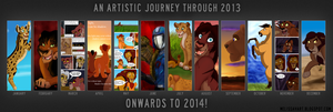 A Year of Art - 2013 by Nala15