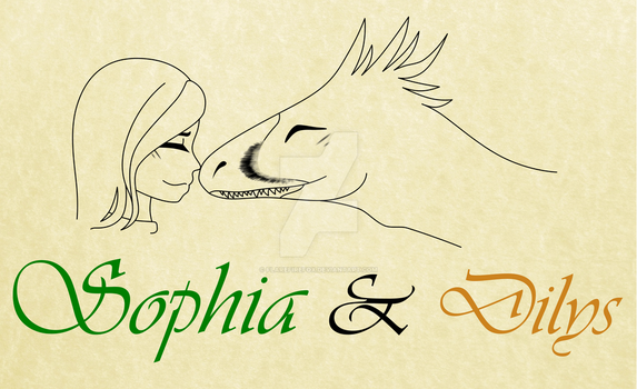 Sophia and Dilys by FlareFireFox