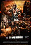 WWE Custom Royal Rumble Poster V2 by SoulRiderGFX