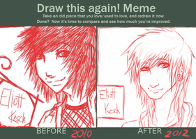 Meme: Draw This Again! -2 by strxbe