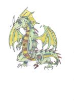 Dragon of the Earth Temple by WhiteKnight0014