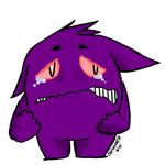this is a gengar by PatMonahanFangirl