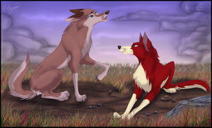 Stop howling! by inssomnya