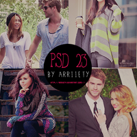 Psd 23 by Arriiety