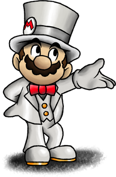 Dapper Mario~ Odyssey by Fawfulthegreat64