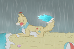 Chillin' In the Rain by Kamrycookie