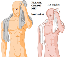 Male with Towel Base by inubasket