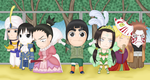 Rock Lee and His Ninja Pals by DeidaraLittleMonster