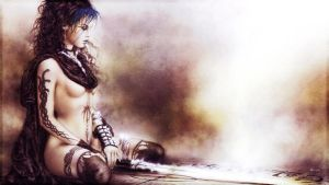 Luis Royo (Wallpaper 02) by Dr-Erich