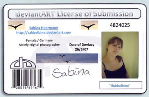 Deviant License by Sabbelbina