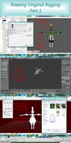 MMD Keep original Game rigging [Tutorial] P1 by 0-0-Alice-0-0
