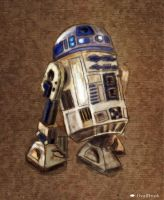 R2 - D2 Droid by ovalbrush