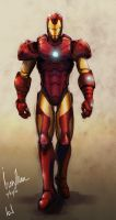 Iron Man by Vensin