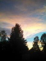 Sunrise at 7:24 in the morning. by CindyLouWhoXox