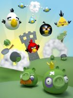 Angry Birds by 16eN