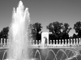 WWII Memorial, Washington DC by icreatedesigns