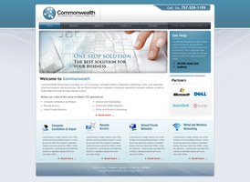 Common wealth Web design by nabeel91