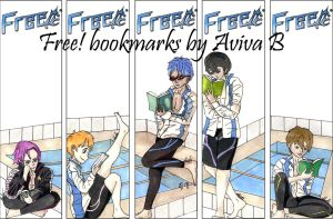 Free! Bookmarks by hatoola13