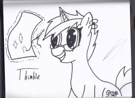 Thimble by Silver-Charge