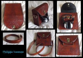Leather Bag by TheGoddess908