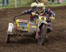 Daniel Willemsen Sidecar Cross #4 @ Langrish by Petrol-Head-Images