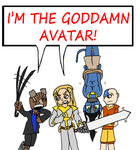 The TRUE Avatar? by SaintHeartwing