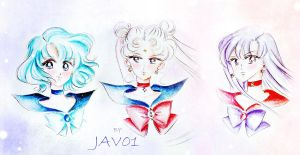 Sailor Moon Romantic by zelldinchit