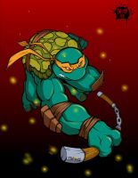 Ninja Turtle Collab by igfalcon