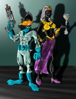 DUCK DODGERS by phil-cho