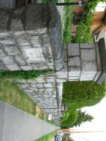 Stone wall and pillar thing. by Regenstock