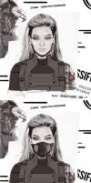Winter Soldier: Sasha Fierce by thewipeout