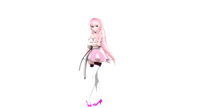 MMD: DT Lilium Luka DL (Now Available) by AED1234PD