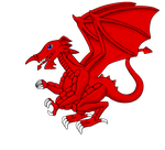 Welsh Dragon - 2015 by AngelGhidorah