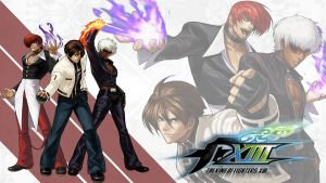 My KOFXIII team wallpaper 2 by EnlightendShadow