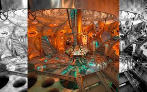 11th Doctors TARDIS interior by Chazman