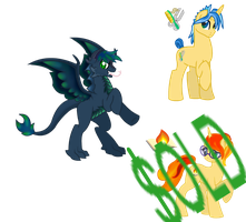 MLP Adopts ~CLOSED~ by DraconianQueen